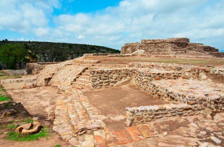 Arroyo Seco zona arqueológica