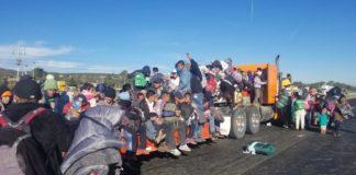 Guanajuato caravana migrante
