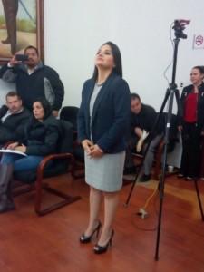 Paloma Alejandra López contralora Silao
