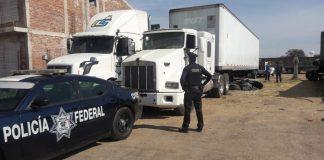 camiones robados autolavado