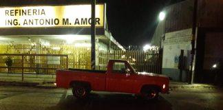 Salamanca refinería camioneta
