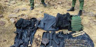 Policía Militar balas