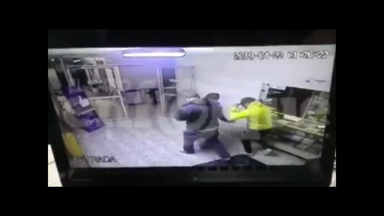 León, robo hospital