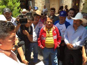 Guanajuato Mineral de la Luz protesta
