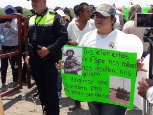 Santa Rosa de Lima protesta