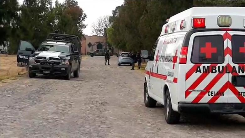 La zona fue acordonada y llamaron a paramédicos de Cruz Roja